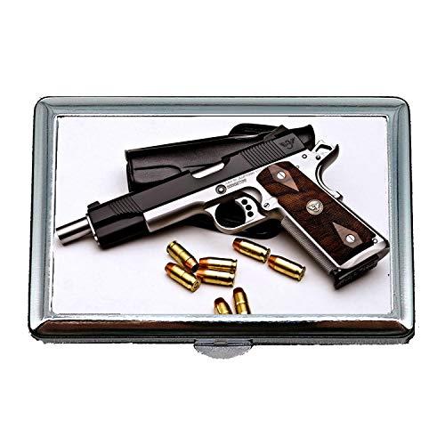 Yanteng Zigarettenetui Geldbörse, 3 Pistolen Etui, Zigarettenetui/Box, neueste Pistole, Visitenkartenetui Visitenkartenetui Edelstahl