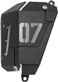 KKmoon Protection de Radiateur Gril de Moto pour Couvercle de Gril Moto Adapt/é pour SUZU KI GSR 750 2012-2015