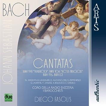 """Bach: Cantatas BWV 198 """"Trauerode"""", BWV 106 """"Actus Tragicus"""", BWV 196 """"Der Herr denket an uns"""", BWV 53 """"Schlage doch, gewünschte Stunde"""""""