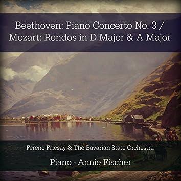 Beethoven: Piano Concerto No. 3 / Mozart: Rondos in D Major & A Major