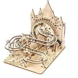 Music Park 3D Wooden Puzzles for Adults & Teenagers Machine Marble Run Wood Model Building Kits Science Educational Toys for Kids Gift Age14+