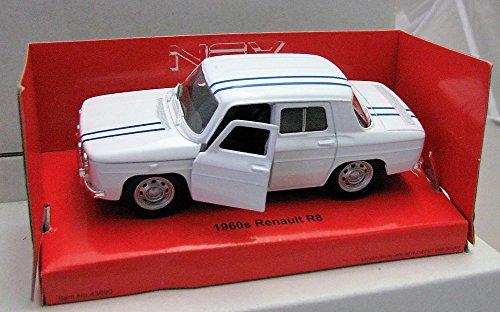 Welly DieCast Metall Modellauto 1:36-39 1960 Renault R8 weiss neu und box