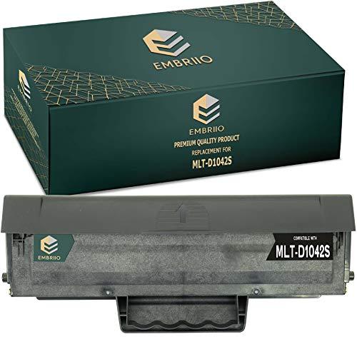 EMBRIIO MLT-D1042S D1042S Cartucho Tóner Reemplazo para Samsung ML-1660 ML-1665 ML-1670 ML-1675 ML-1860 ML-1865 ML-1865W SCX-3200 SCX-3201 SCX-3205 SCX-3205W