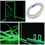 <span class='highlight'><span class='highlight'>Godyluck</span></span> Glow in the Dark Tape Luminous Tape Self-adhesive Green Light Luminous Tape Sticker 15mm x 3Meters /Roll Waterproof Photoluminescent