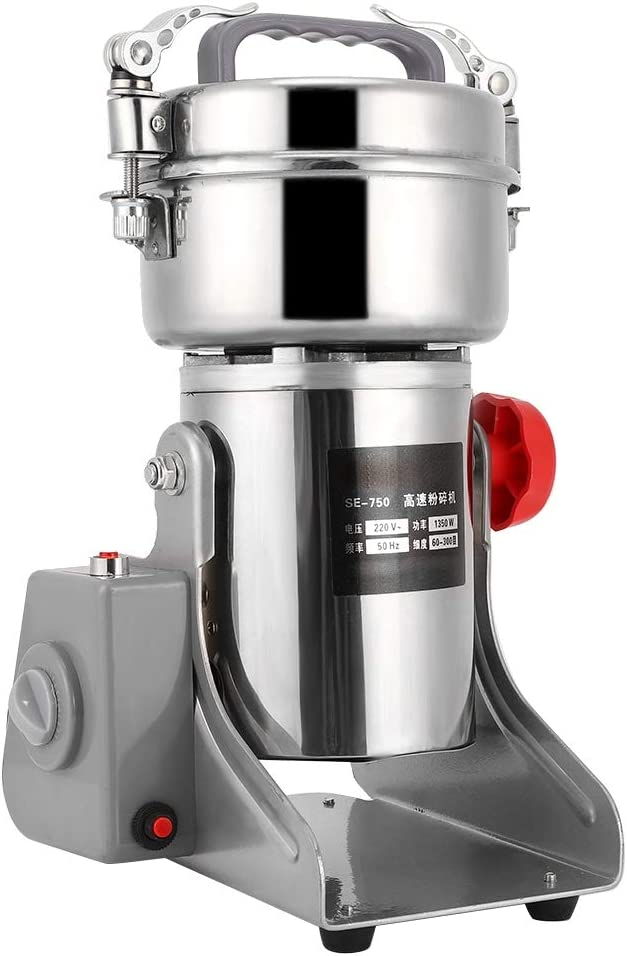 750g Electric Today's only Grinder 28000RPM half Chinese Mill Medicine Food Dry G