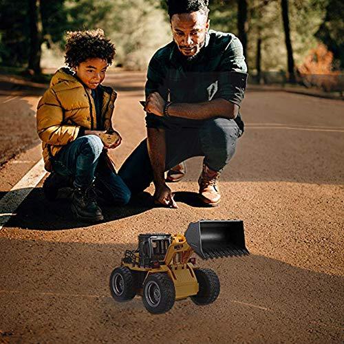 RC Auto kaufen Baufahrzeug Bild 5: Kldstar Ferngesteuertes Auto, RC LKW, Legierung, Schaufel Loader Traktor 2,4 G Radio Baufahrzeug Elektronisches Spielzeug? RC Auto LKW Geschenk*