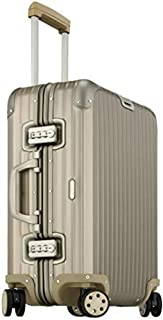 Rimowa Topas Titanium Carry on Luggage IATA 21