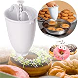 Doughnut Maker, mini máquina para hacer donuts manual portátil para hacer herramientas de cocina, para hacer donuts en casa o restaurante