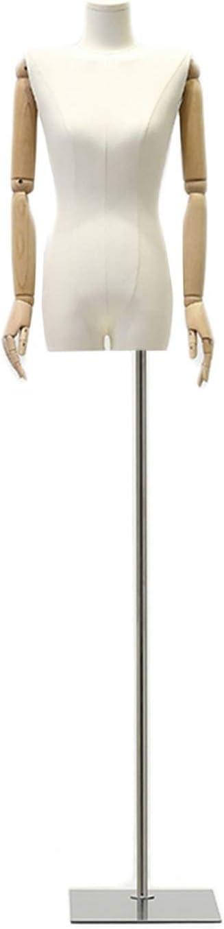 KKCF Mannequin Torso Height Adjustable St Burlap Fashionable Nippon regular agency Clothing
