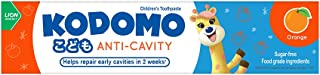 Kodomo Anti-Cavity Children's Toothpaste-Orange, 80 grams