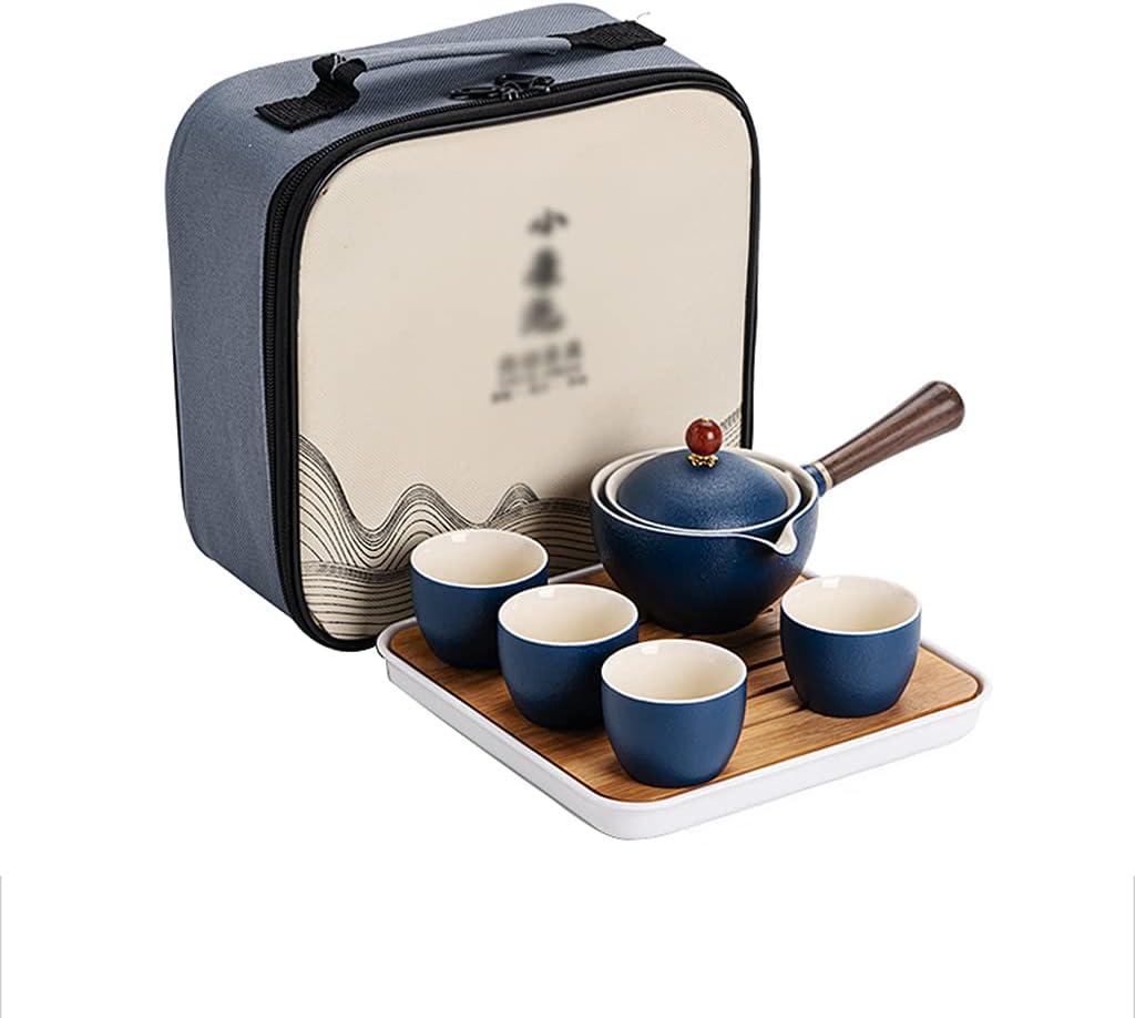 Challenge the lowest price of Japan ASDWS Ceramic Portable Travel Tea Set Award-winning store Chinese Kungfu Ha