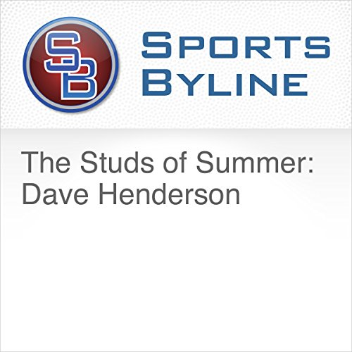 The Studs of Summer: Dave Henderson audiobook cover art