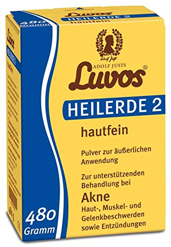 Luvos Bio Luvos-Heilerde 2 hautfein (2 x 480 gr)