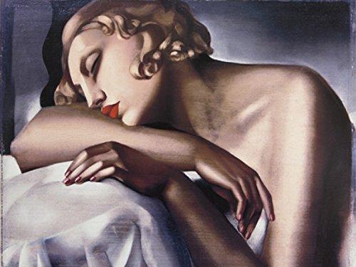 1art1 Tamara De Lempicka - La Dormeuse Poster Kunstdruck 80 x 60 cm