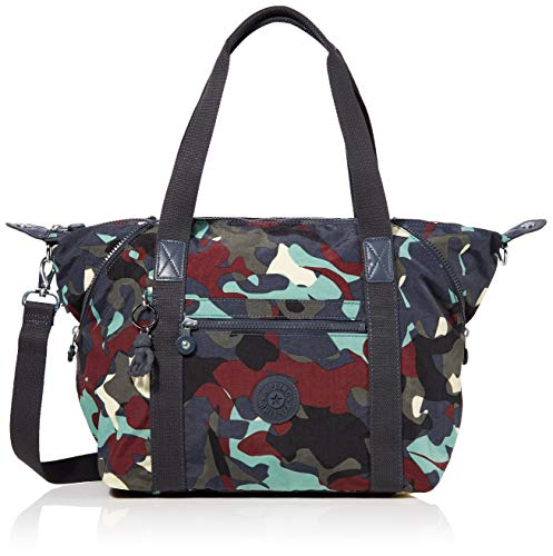 Kipling Art, Women's Satchel, Multicolour (Camo Large), 44x27x20 cm (B x H T)