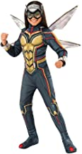 Marvel Girls' Wasp Avengers Deluxe Halloween Costume with Wings