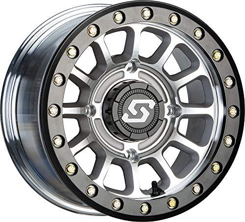 Sedona Sano Beadlock 15x6 ATV/UTV Wheel - Cast/Black 4/137-5+1