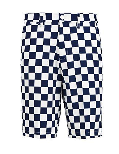 Mens Checkered Shorts