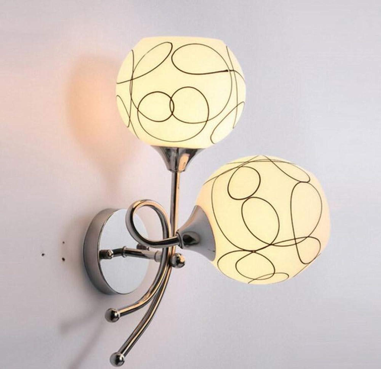 Kronleuchter Deckenleuchte Led-Lichtmoderne Kristallwandleuchte Einzelkopf Kunst Nachtwandleuchte Spiegel Vorne Schlafzimmer Wandleuchte
