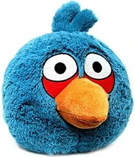 blue angry bird plush