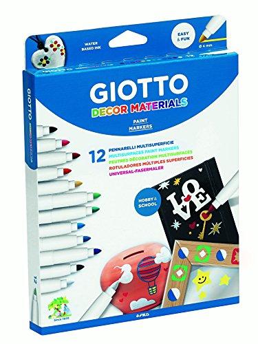 Giotto 4534 00 Decor Fasermaler, 19 x 2,3 x 25,5 cm