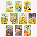 Fun and entertaining short moral stories for children to read. The stories inside each book will help to inculcate good values in children. A very handy bag for children to carry wherever they go. Colourful illustrations on each page to captivate int...