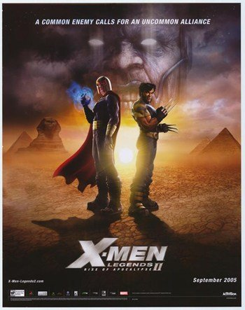 X-Men Legends 2-Rise of The Apocalypse c.2005 - Style A Movie Poster (27,94 x 43,18 cm)