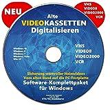 VHS Video-Kassetten selber digitalisieren Software Komplettpaket PREMIUM NEU