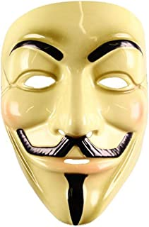 iHeartRaves Guy Fawkes Anonymous V for Vendetta Mask Beige