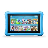Amazon Fire HD 8 Kids Edition-Tablet - 8-Zoll HD-Display, 32GB Speicher, in blauer kindgerechter Hülle, zweijährige Sorglos-Garantie