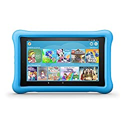 FireHD8 KidsEdition-Tablet, 8-Zoll-HD-Display, 32GB, blaue kindgerechte Hülle (vorherige Generation – 8.)