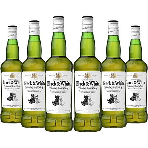 ブラック&ホワイト ブレンデッド・スコッチ [ ウイスキー イギリス 700ml×6本 ]