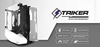 Antec StrikerMini Aluminum and Steel ITX Computer Case, Front GPU Mount, Up to 4 x 120 mm Fan Support, USB 3.1 Type-C Rea...