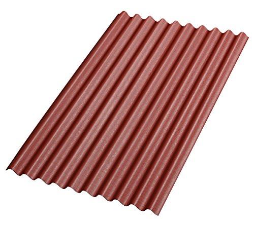 bitumenwellplatten-rot