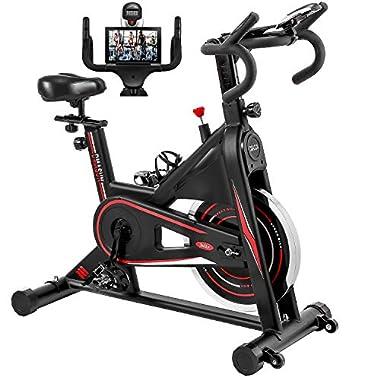 Exercise Bike, DMASUN Indoor Cycling Bike Stationary,...