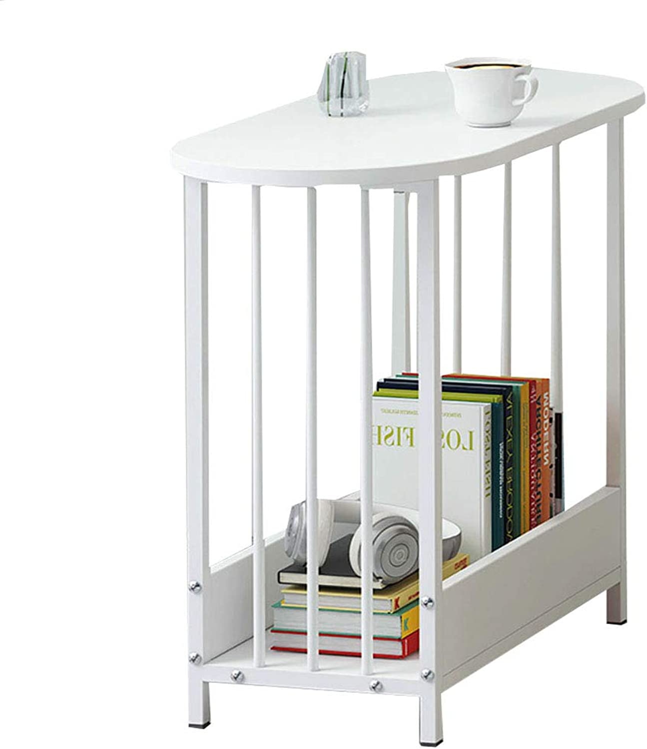 End Tables Side Table Nightstands Couch Living Room Table Sets Petite Stable and Sturdy with Storage Basket Multipurpose Space-Saving Chrome Metal Legs for Bedroom Parlor