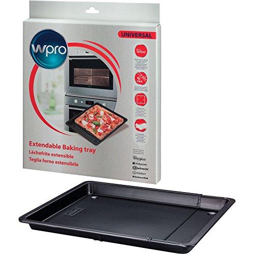 Wpro UBT521 Oven- en fornuisaccessoires, ovenplaten, kookplaat, uittrekbare bakplaat, universeel