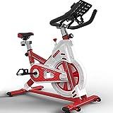 Bicicleta estática de Ciclismo para Interiores, Bicicletas de Estudio Máquinas de Ejercicio Cardio Workout Actividades de Interior Bicicleta estática, manubrio de Asiento Ajustable Capacidad