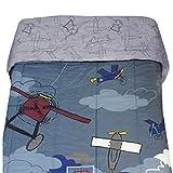 Disney Vintage Mickey Plane Crazy Twin Bedding Comforter