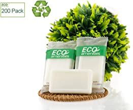 ECO Amenities Spa Sachet Individually Wrapped 0.5 ounce Cleasing Soap, 200 Bars per Case