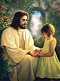 DIY Paint by Numbers for Adults Kids Son Jesus Christ DIY Painting by Numbers DIY Canvas Painting by Numbers Acrylic Painting Home Wall Decor 40x50cm