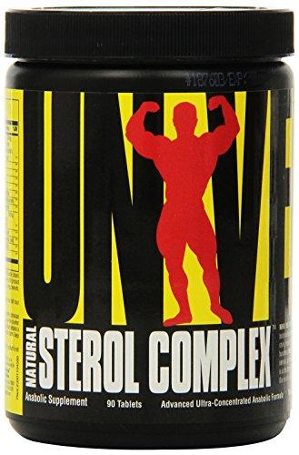 Universal Nutrition Natural Sterol Complex Anabol Aufbau von Muskelmasse 90 Tabletten