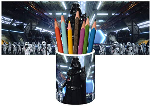 Star Wars Darth Vader Stormtroopers Portalápices Vaso Cerámica Pencil Holders Ceramic Glass ⭐