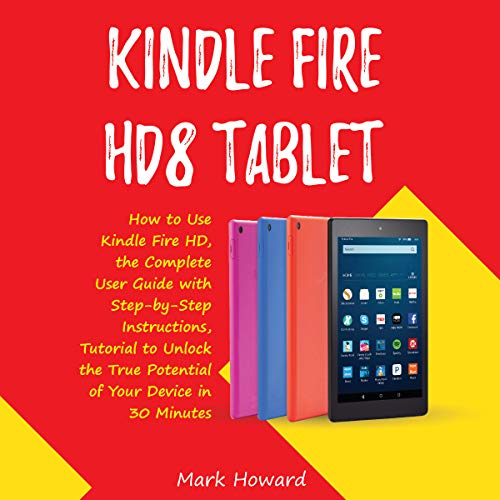 Kindle Fire HD8 Tablet audiobook cover art