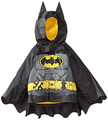 Western Chief Kids D.C. Comics Character lined Rain Jacket, Batman Everlasting, 6