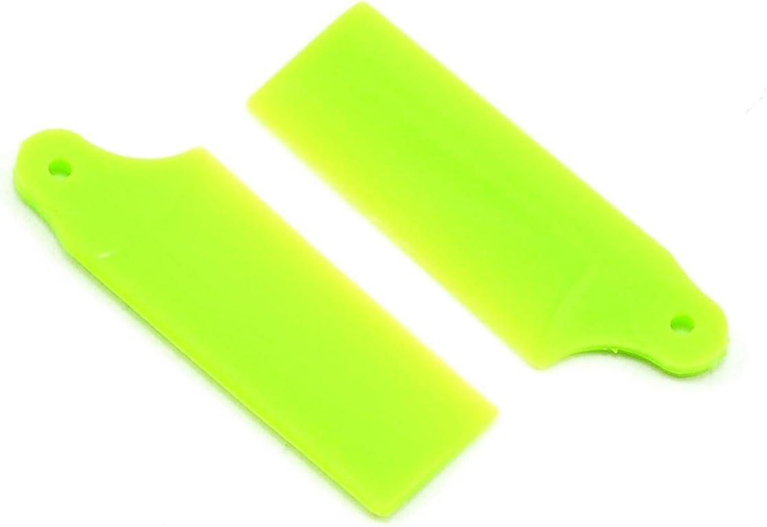 KBDD International San Antonio Mall Tail Blades for Lime Helicopter E Neon 130X Finally resale start