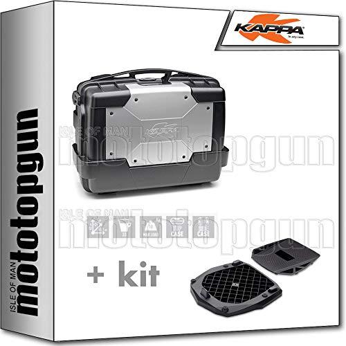 kappa maleta kgr33 garda 33 lt + parrilla monokey compatible con benelli trk 502 trk502 x 2019 19
