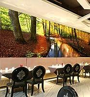 YCRY-壁紙3Dサンリバーツリー -壁の装飾-ポスター画像写真-HD印刷-現代の装飾-壁画-350x250cm