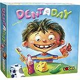 El juego de mesa Dentaday I para jugar y aprender para niños, juego educativo para 2 a 5 jugadores a partir de 4 años I Enseña a los niños después de comer dulces vale la pena cepillar los dientes.