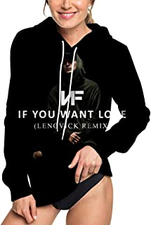 If You Want Love Women's Full Print Both Sides Hoodie Pullover Sweatshirt Sweater Jacket